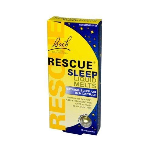 Bach Flower Remedies Rescue Sleep Liquid Melts - 28 Capsu...