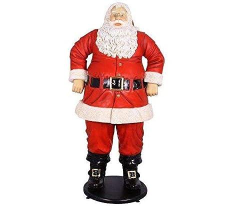 Amazon.com: LM Treasures Santa Claus Jolly 6 ft Life Size ...