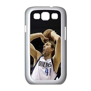 Samsung Galaxy S3 9300 Cell Phone Case White Dirk Nowitzki SLI_666545