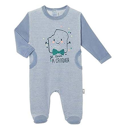 Petit B/éguin 3 mois Pyjama b/éb/é velours Milky Taille