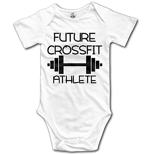 Infant Future CrossFit Athlete Cute Baby Onesie Bodysuit (Christmas Crossfit Athlete)