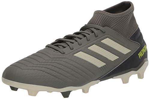 adidas Men's Predator 19.3 FG Football Shoe, legacy green/sand/Solar Yellow, 8.5 Standard US Width US