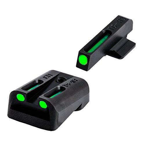 TRUGLO TFO Handgun Sight Set - Kimber (Best Handgun Sights For Old Eyes)