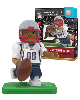 Martellus Bennett Nfl Oyo New England Patriots Super Bowl Li Generation 4 G4 Mini Figure