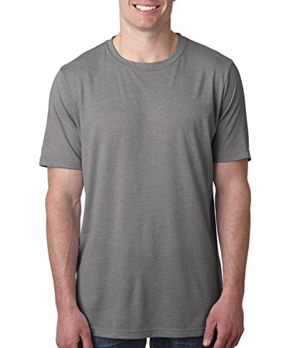 (Next Level Men's Blended Preshrunk Sheer Jersey T-Shirt, Ash, XX-Large)