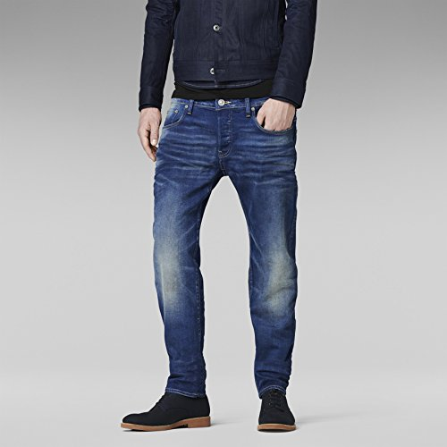 G-STAR, Men Jeans 3301 Low Tapered Medium Aged, Größe 28/30