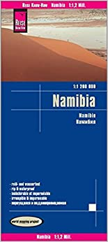 Namibia, Mapa Impermeable De Carreteras. Escala 1:1.200.000 Impermeable. Reise Know-how. por Vv.aa. epub