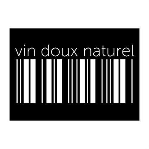 teeburon-vin-doux-naturel-barcode-pack-of-4-stickers