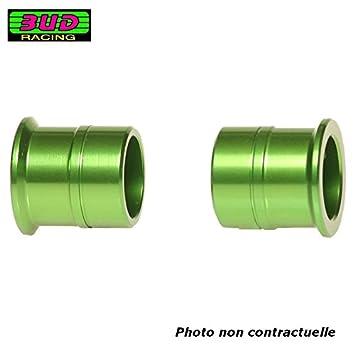 Cuñas para Rueda delantera Bud Racing Kawasaki 125 250 450 KX KXF 03 - 17: Amazon.es: Coche y moto