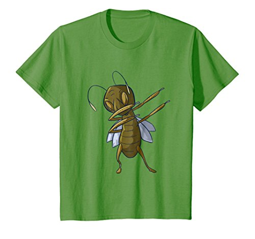 Kids Grasshopper Shirt Kids Men Women Funny Dabbing Tee Toddler 8 Grass