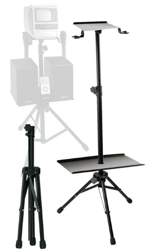 Emerson AC168 Karaoke Stand for Small TV and Speakers