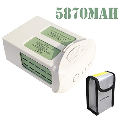 JoyBros Phantom 4 Battery 15.2V 5870mAh LiPo Intelligent Flight Battery Replacement Compatible for DJI Phantom 4, Phantom 4 Pro V2.0, Phantom 4 Pro Plus, Phantom 4 Advanced (V2 2 Phantom)
