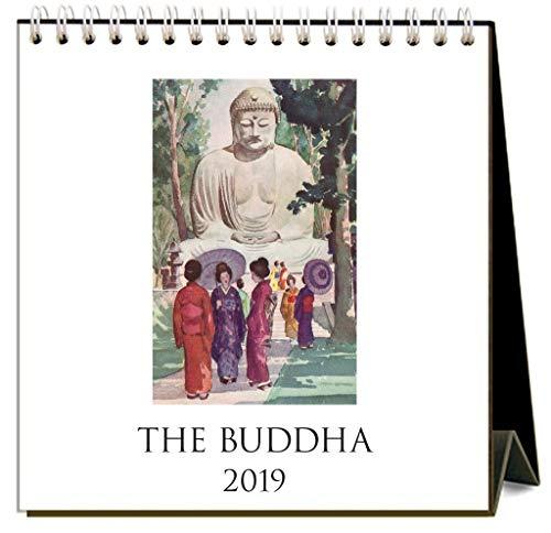The Buddha 2019 Easel Desk Calendar by Found Image Press