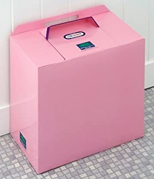 Pink Einweg Sanitar Bin Trial Stuck Brilliant Mulleimer