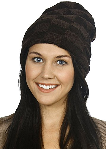 Simplicity Crochet Knit Wrap Ski Beanie Open Ended Skull Hat Cap
