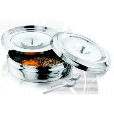 Stainless Steel Masala Dabba (Traditional Indian Spice - Spice Namaste
