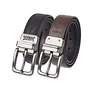 Levi's Boys Big Kids Belt – School Casual for Jeans Classic Strap and Single Prong Buckle