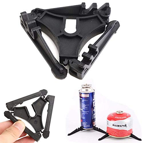 (TD-OUTGO Folding Outdoor Camping Hiking Cooking Gas Tank Bracket Canister Stand Tripod New)