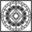 Bulk Buy: Crafters Workshop (3-Pack) Template 6\'X6\' Byzantine TCW6X6-463