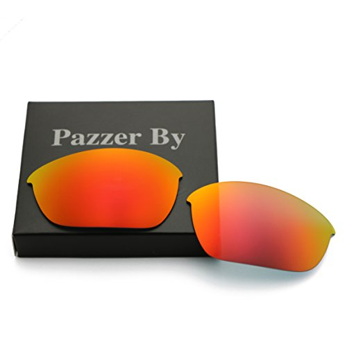 Polarized Replacement Lenses for Oakley Half Jacket 2.0 - Orange Red Mirrored - Lenses Half Replacement Polarized 2.0 Oakley Jacket