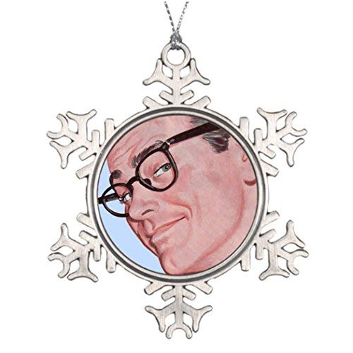 OneMtoss Christmas Snowflake Ornament Personalized Family Christmas Snowflake Ornaments Smarty Pants Harry Knows Something You Don't Know Small Christmas Tree Decorating Ideas 1950S -