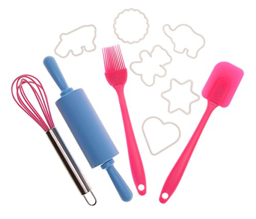10 Piece Kids Baking Set