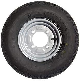 1x 4.80//4.00-8 4Ply 62M New High Speed Trailer tyre wheel 4 inch PCD READ DESC