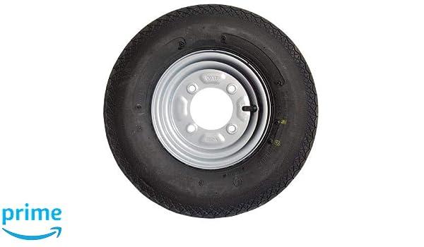 leisure MART 400 x 8 Inch Remolque Rueda y neumático con neumáticos de 4 Capas y 115 mm PCD para Daxara 107 127 y Erde 121 122 PT no. lmx628: Amazon.es: ...