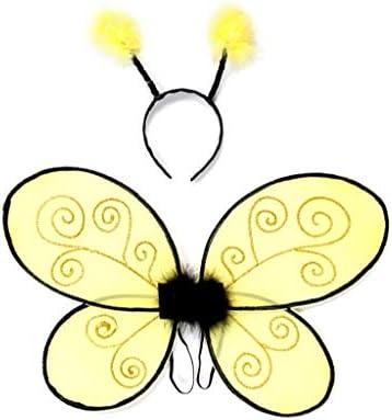 Grandes imitaciones - alas y antenas para disfraz de abeja para ...