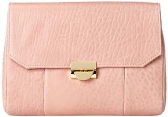Lauren Merkin Mini Marlow MM3F054 Clutch,Blush Bubble Lamb,One Size