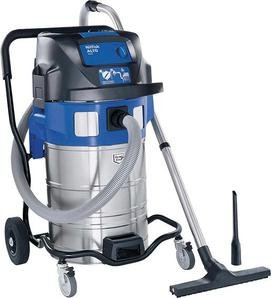Nilfisk ATTIX 961-01 16A 230/1/50 EU - vacuum cleaners (Drum, Professional, Hard floor, Blue, Silver, Stainless steel, Telescopic)