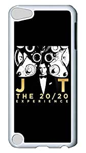 iPod Touch 5 Case, iPod 5 cases - Customized Design White Back Case Cover for iPod 5 Justin Timberlake 20 20 Experience Ultra Thin Hard Case Cover For iPod Touch 5