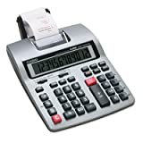 Casio Printing Calculator 12 Character(s) - LCD - Battery Powered HR150TM