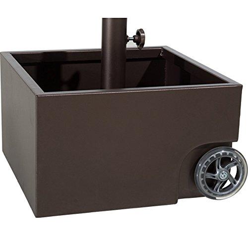 umbrella base with wheels - 8