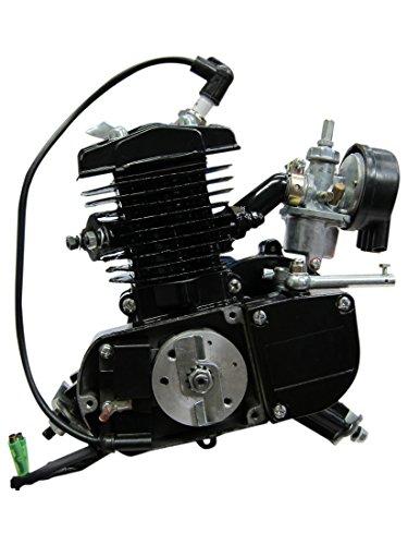 BBR Tuning 48cc Black Motorized Bicycle Kit 2 Stroke Gas Powered Bike Motor Engine