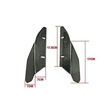 Amazon Com Carbon Fiber Arc Style Front Bumper Lip Splitter Valance
