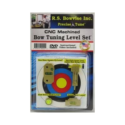 Image of Rs Bowvise Ultimate CNC Aluminum Bow Tuning Level Set Bow Maintenance Accessories