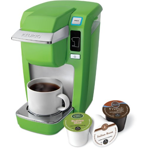 Keurig K10 Mini Plus Flash Green Single Serve Personal Brewer