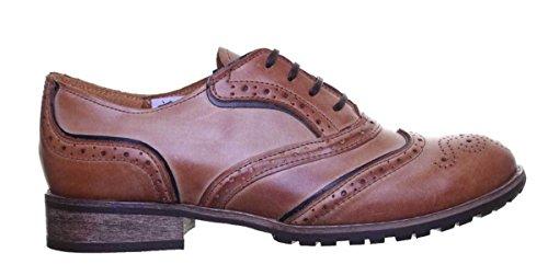 peau lacets Agnes Justin pour femme ville Chaussures Reece à de nAUUzgYx