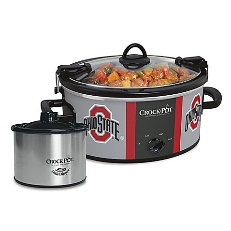 Ohio State University Slow Cooker with Little Dipper Warmer