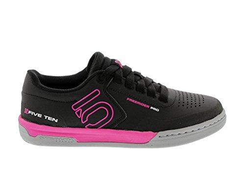 Five Ten Womens Freerider Pro Bike Shoes Black/Pink GWAAOl6Xr