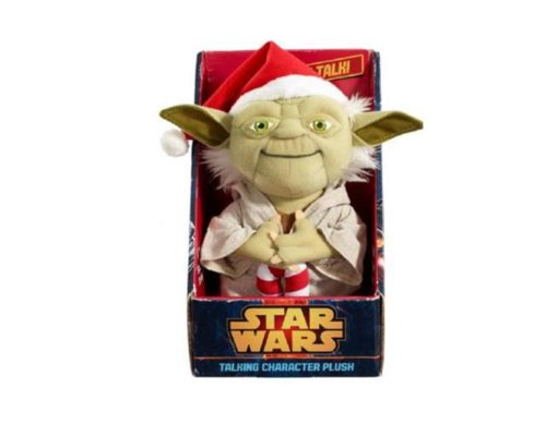 Stars Wars Yoda (Star War's Talking Plush Yoda Santa)