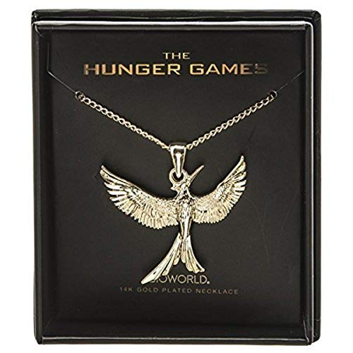 Bioworld Hunger Games Mockingjay 14K Gold Plated Boxed Necklace -