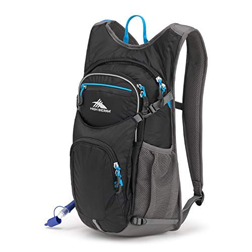 6774d682ad High Sierra HydraHike 16L Hydration Pack, Black/Slate/Pool