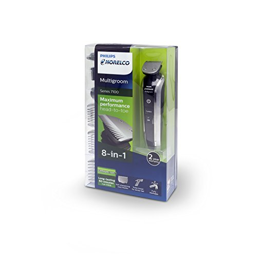 Philips Norelco Multigroom Series 7100, 8 attachments, QG3390 by Philips Norelco (Image #8)