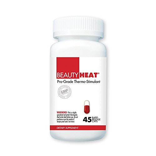 BeautyFit BeautyHeat, Pro-Grade Thermo-Stimulant For Women, 45 Capsules