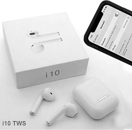 Amazon com: Wireless Blue 2019 Model i10 TWS Bluetooth