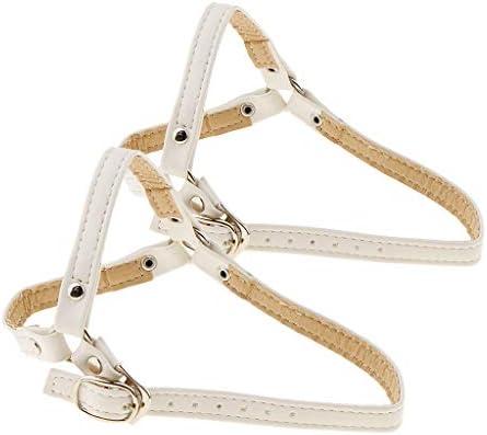 緩いハイヒールの靴のウェッジフラットのためのバックル付き1ペア取り外し可能なアンチルーズシューズストラップアクセサリー