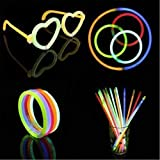Wall of Dragon Pcs Christmas Party Neon Glowstick Light Stick Kids Funny Glow Stick Toys Glow in The Dark Fluorescent Bracelet Toy for Kids