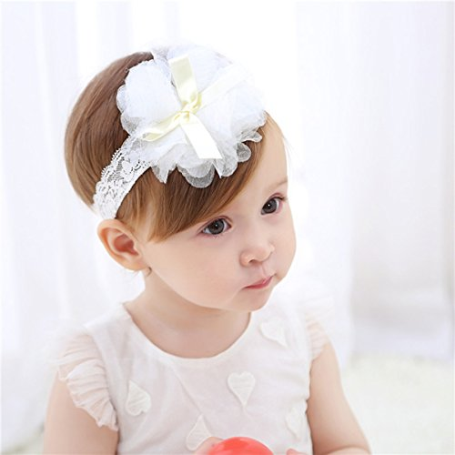 Cute Headband Accessories, 5Pcs Lovely Baby Girls Flower Headbands Photography Props by Wemi (Image #7)